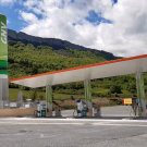 New LNG/CNG refuelling station in Spain.
